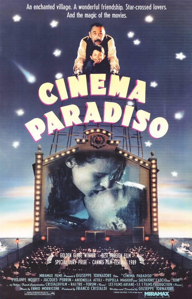 Acte cancel·lat: Cinema per a gent gran: Cinema Paradiso (1988)