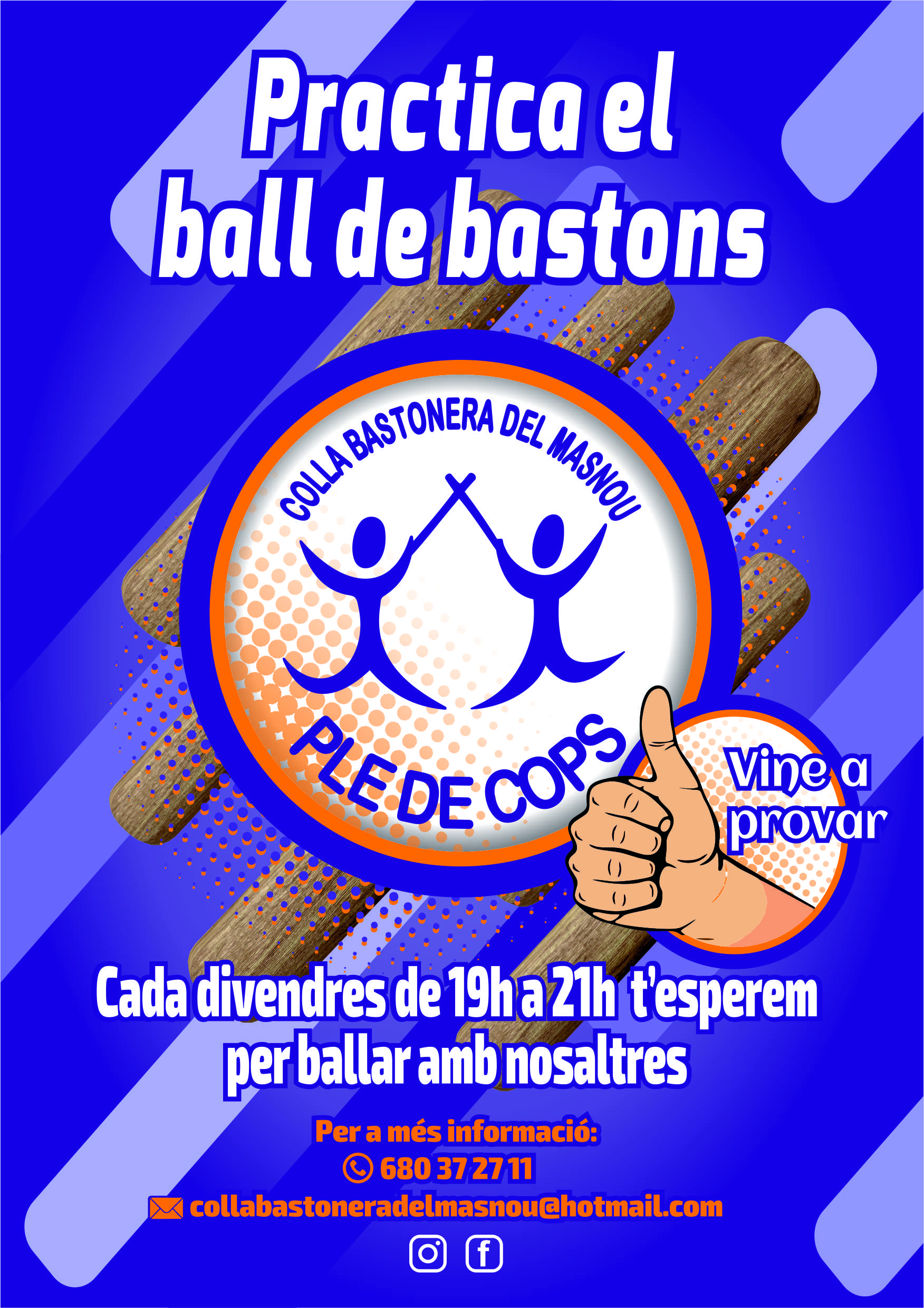 ACTE CANCEL·LAT: Ball de bastons