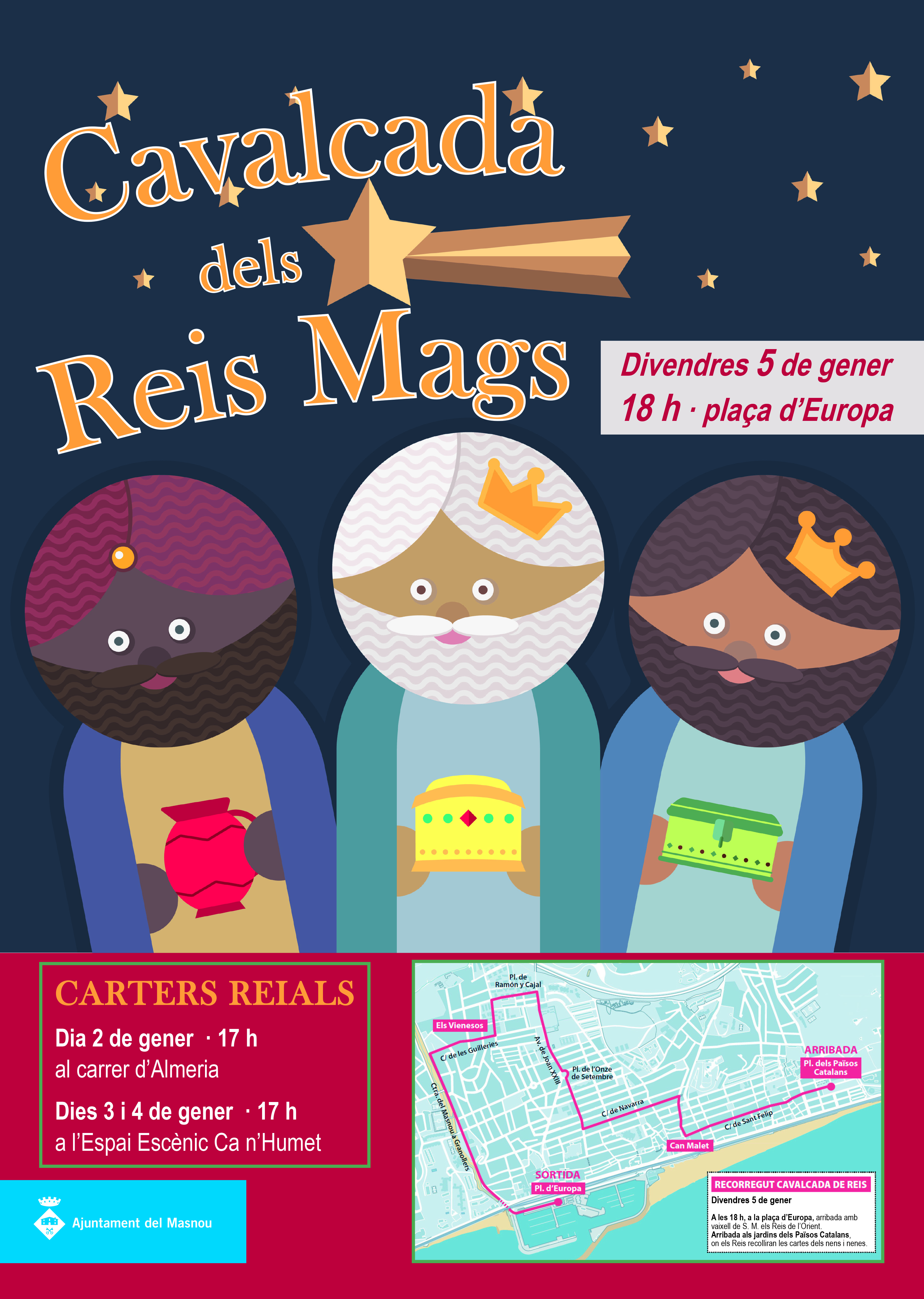 Cartell Reis Mags 2018